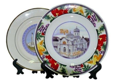 Печать на тарелках